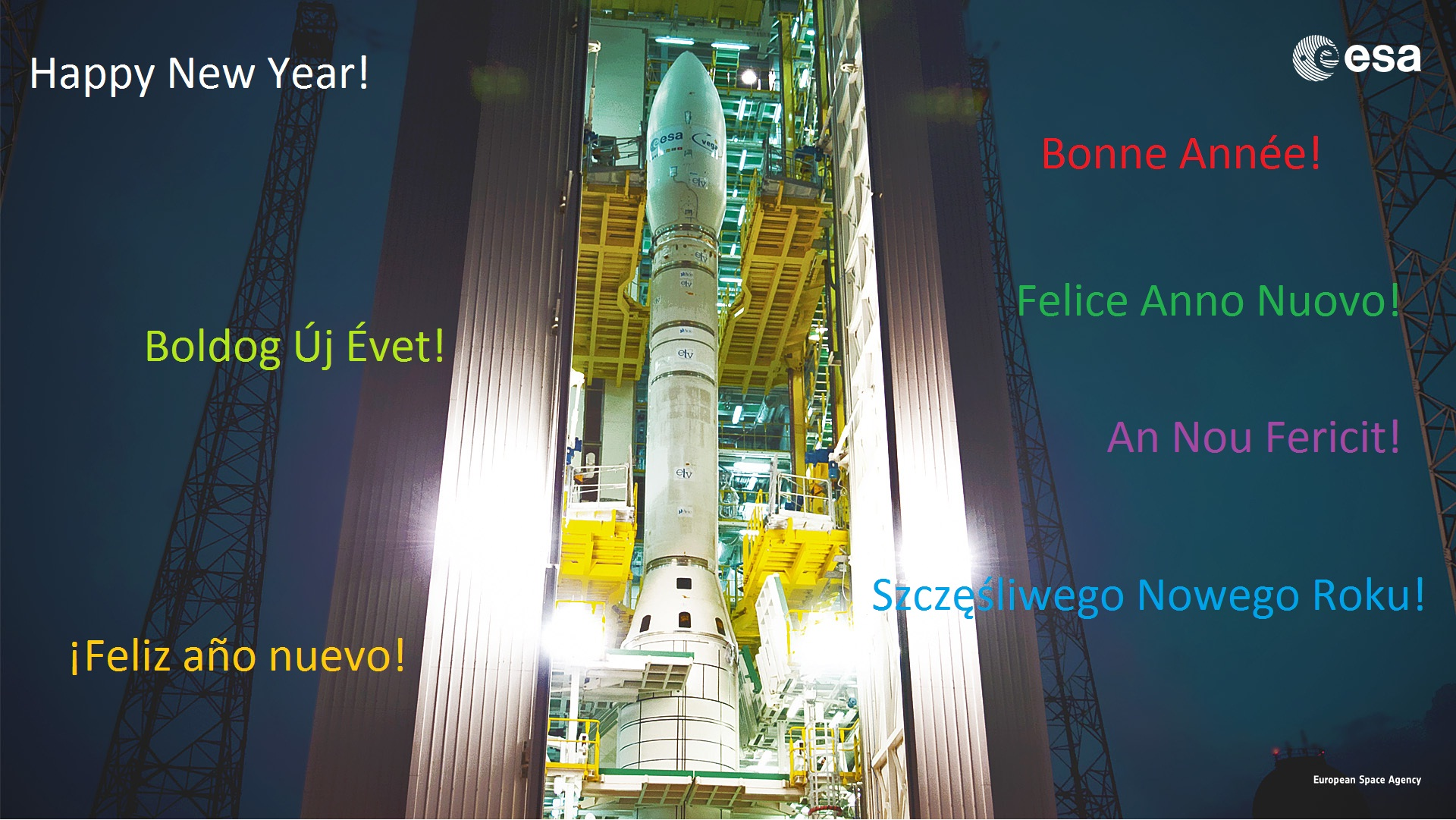 HNY from ESA