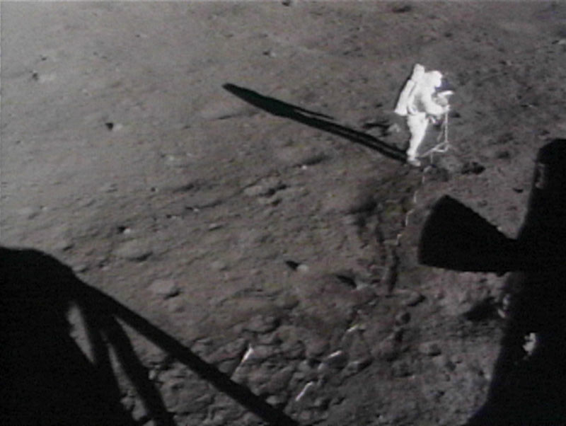 Man on the Moon on 20th July 1969.