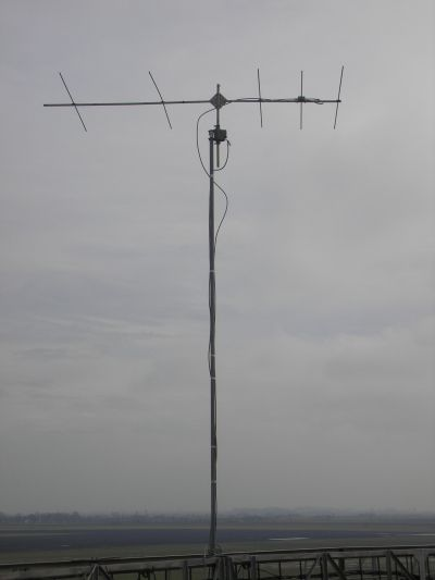 HA8MV/P 70 MHz antenna