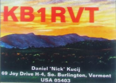 QSL from KB1RVT to HA6NM for the very first HA-USA QSO on HO-68 satellite