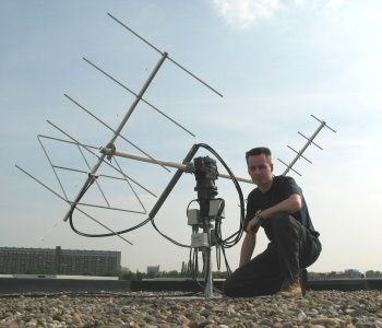 PH7AT's Satellite Antenna