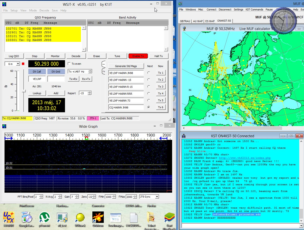 WSJT-X new adjustments on Wide Graph